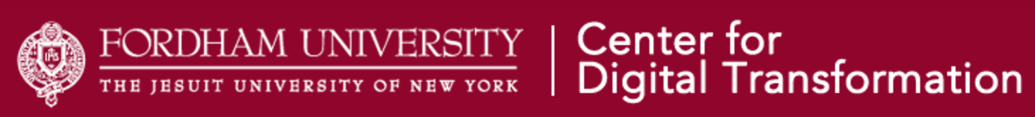 Fordham University's Center for Digital Transformation